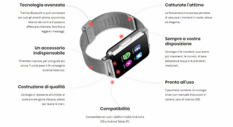 Caratteristiche XPower Watch